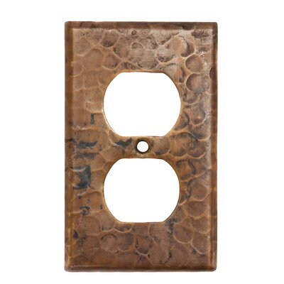 Copper 2 Hole Outlet Cover