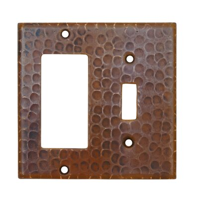 Copper Combination Switchplate Cover