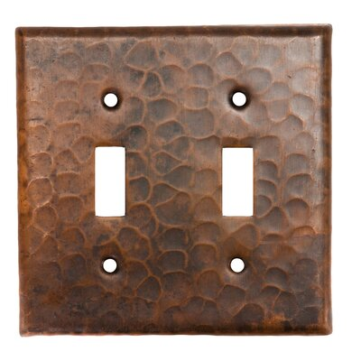 Copper Double Toggle Switch Cover
