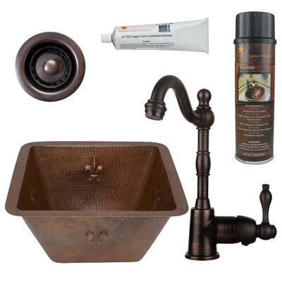 15 x 15 Bar Sink with Faucet