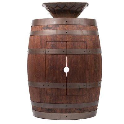 28 Single Wine Barrel Vanity Set Base Finish: Whiskey