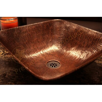 Square Square Vessel Bathroom Sink