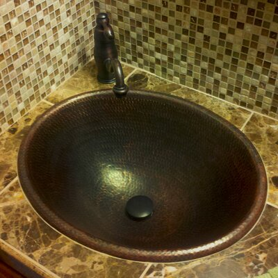 Self-Rimming Bathroom Sink