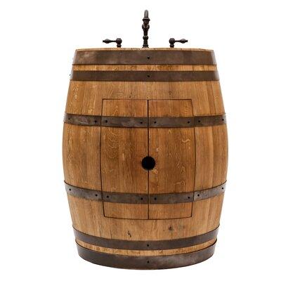 28 Single Wine Barrel Bathroom Vanity Set Base Finish: Natural