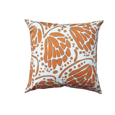 Wings Throw Pillow Size: 16 H x 16 W
