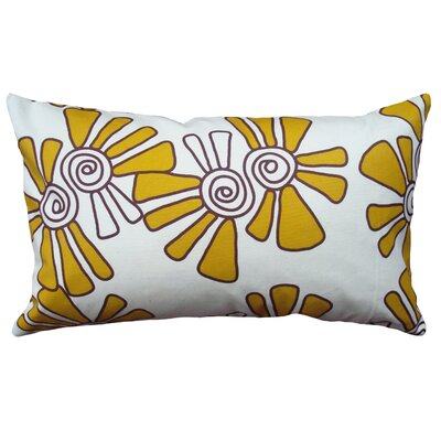 "Alex Cotton Throw Pillow Size: 12"" H X 20"" W"