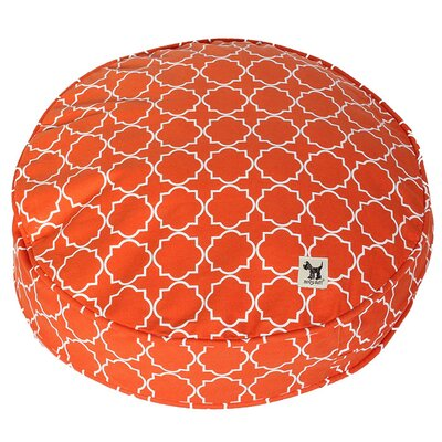 Karma Chameleon Petite Duvet Pillow Color: Orange