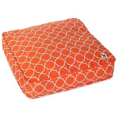 Your Hand in Mine Petite Duvet Pillow Color: Orange