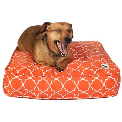 Title Track Dog Bed Cover