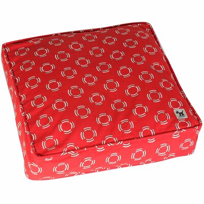 Lady in Red Dog Bed Cover