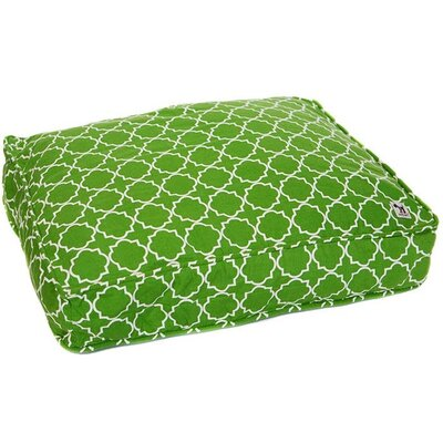 Title Track Dog Pillow Cover Color: Green, Size: Medium (36 W x 27 D)