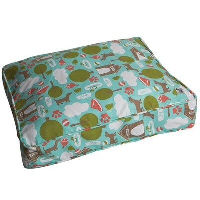 Bleecker Street Dog Bed Cover Size: Small (27 W x 22 D )