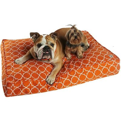 Title Track Dog Bed Cover Size: Large (45 W x 36 D)