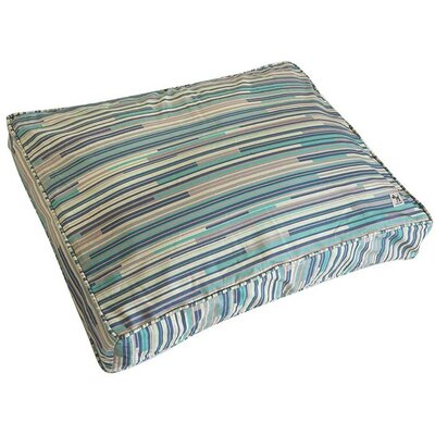 I Dont Like Mondays Dog Bed Cover Size: Medium (36 W x 27 D)