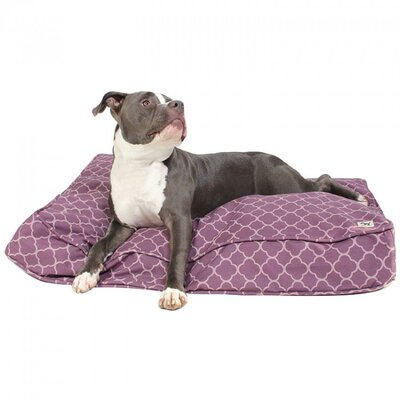 Your Hand in Mine Dog Pillow Size: Medium (36 W x 27 D)