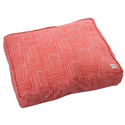 Jitterbug Dog Bed Cover Size: Small (27 W x 22 D )