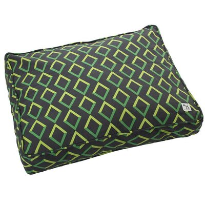 Karma Chameleon Dog Bed Cover Size: Medium (36 W x 27 D)