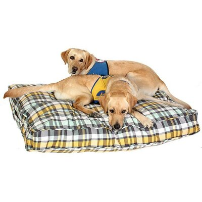 Northwestern Girls Dog Bed Cover Size: Large (45 W x 36 D)