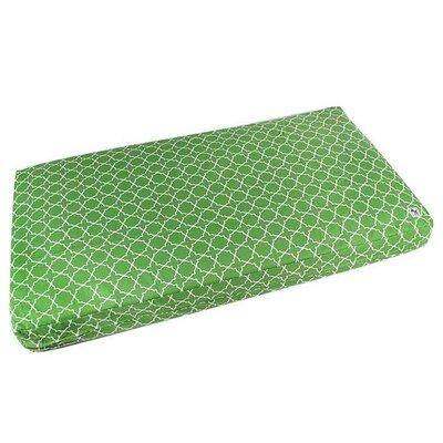 Karma Chameleon Crib-E Pillow Color: Green
