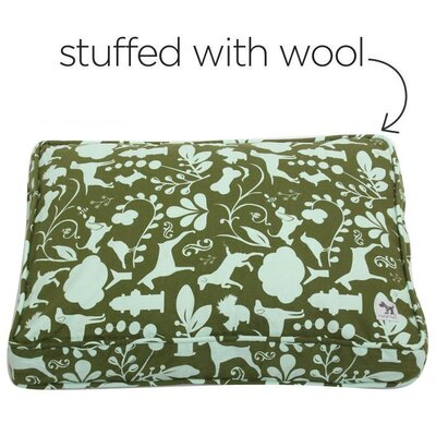 Amarillo Dog Bed Cover Size: Small (24 W x 18 D)