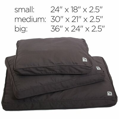 Im A Realist Dog Bed Cover Size: Small (24 W x 18 D)