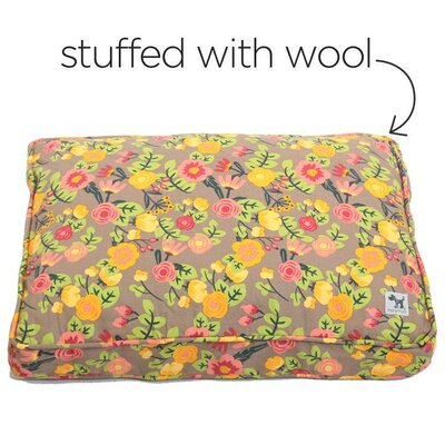 Sheepy Dog Pillow Size: Medium (30 W x 21 D)