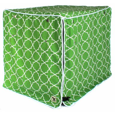 Jitterbug Crate Cover Color: Green, Size: 24 H x 21 W x 30 D