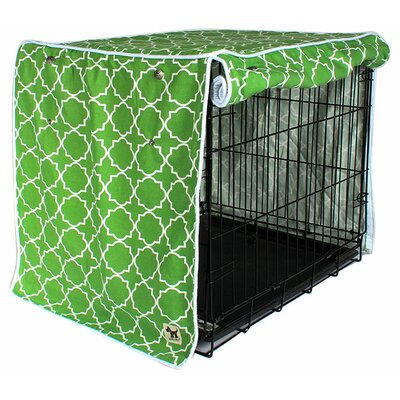 Kurt Title Track Dog Crate Cover Size: 27 H x 24 W x 36 D