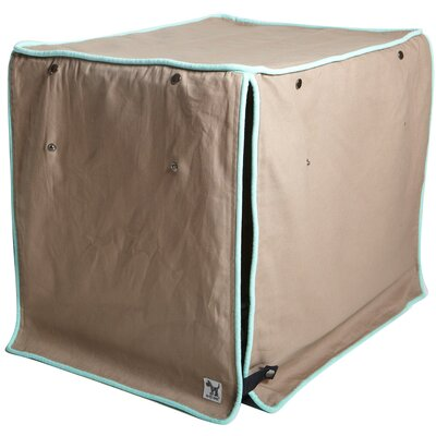Kurt Wild Horses Dog Crate Cover Size: 21 H x 18 W x 24 D