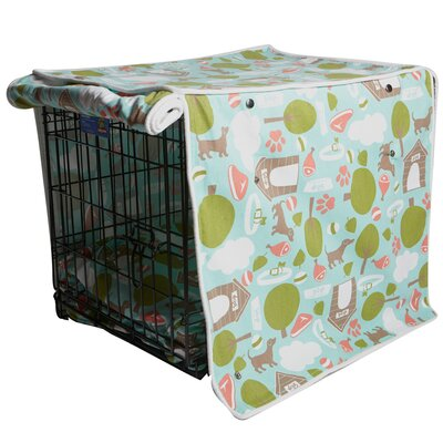 Kurt Bleecker Street Dog Crate Cover Size: 24 H x 21 W x 30 D