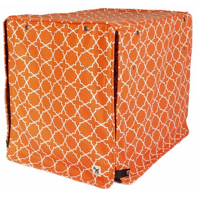 Kurt The Boxer Dog Crate Cover Size: 21 H x 18 W x 24 D