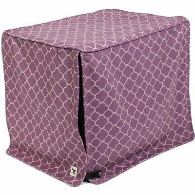 Kurt Royals Dog Crate Cover Size: 24 H x 21 W x 30 D