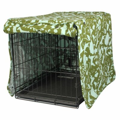 Kurt Amarillo Dog Crate Cover Size: 31 H x 28 W x 42 D