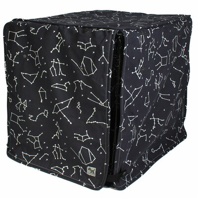 Kurt Rocketman Dog Crate Cover Size: 33 H x 30 W x 48 D