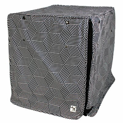 Kurt Rough Gem Dog Crate Cover Size: 24 H x 21 W x 30 D