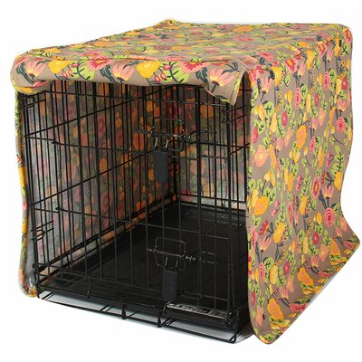 Kurt Time After Time Dog Crate Cover Size: 27 H x 24 W x 36 D