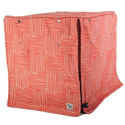 Kurt Dog Crate Cover Size: 21 H x 18 W x 24 D