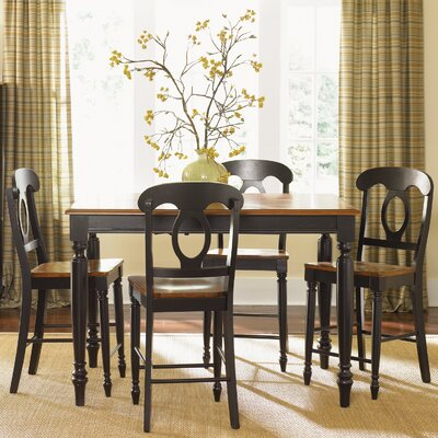 Low Country Dining Table Table Finish: Anchor Black with Suntan Bronze