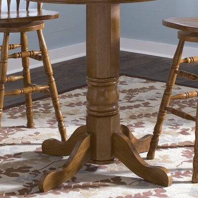 Liberty Furniture Nostalgia Casual Dining 5 Piece Round Dining Table Set