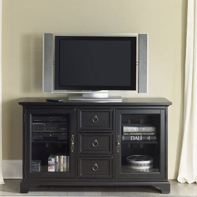 Beacon 64 TV Stand Finish: Distressed Black, Width of TV Stand: 32 H x 54 W x 19 D