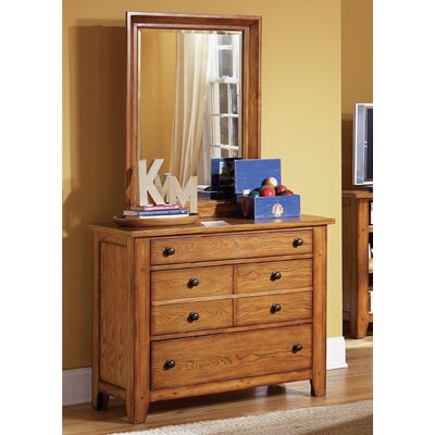3 Drawer Dresser with Mirror