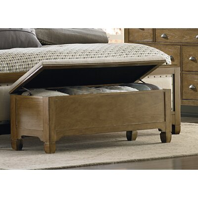 Town and Country Upholstered Storage Bedroom Bench Finish: Sandstone