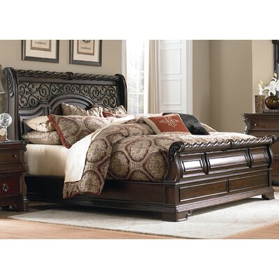 Arbor Place Sleigh Bed LIF3661