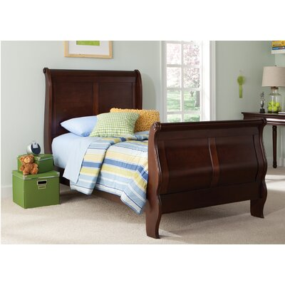 Carriage Court Sleigh Headboard Size: King
