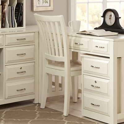 Hampton Bay Side Chair Finish: White