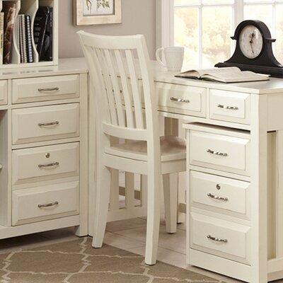 Hampton Bay Side Chair Finish: White