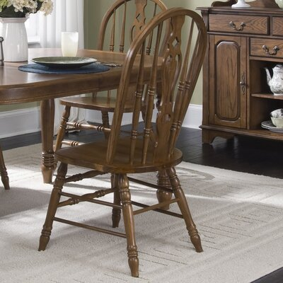 Old World Windsor Side Chair (Set of 2)