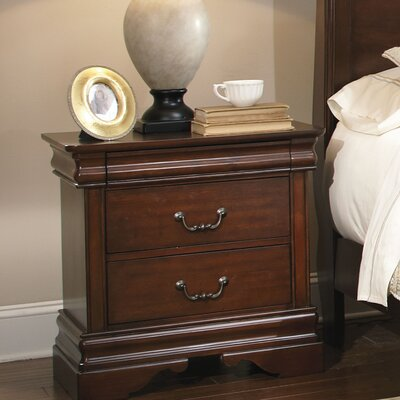 Carriage Court�2 Drawer Nightstand