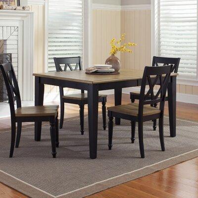 Al Fresco Extendable Dining Table Finish: Black