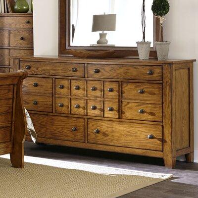 Grandpas Cabin 7 Drawer Standard Dresser